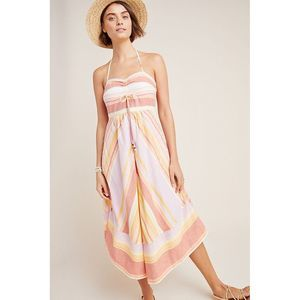 New Anthropologie Savannah Halter Dress $160